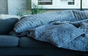 weighted blanket for depression & anxiety